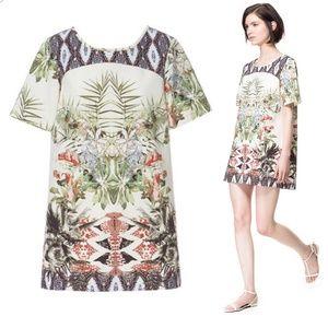 Zara Print Sheath Dress